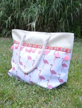 Τσάντα Θαλάσσης Flamingo κρόσια