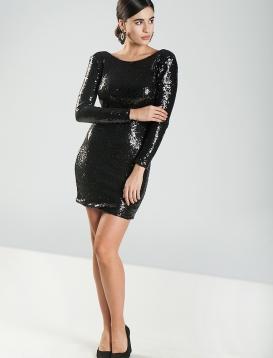 Φόρεμα Sequin Μαύρο