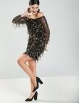 Φόρεμα Sequin Off Shoulder