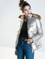 Puffer Jacket Silver