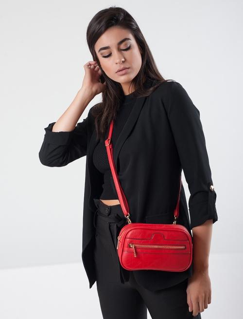 Τσάντα Μέσης Κόκκινη