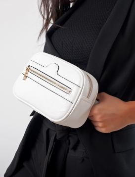 Τσάντα Μέσης Ασπρη