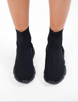 Sneaker Bootie Μαύρο