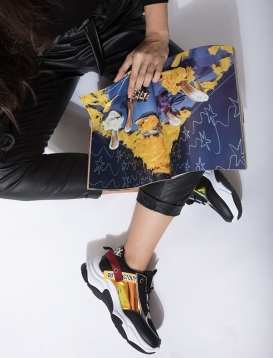 Sneakers Πολύχρωμο