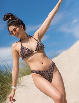 Bikini Gold Black
