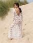 Φόρεμα Άσπρο See Through