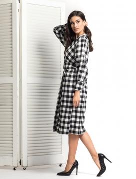 Φόρεμα Καρό Checked