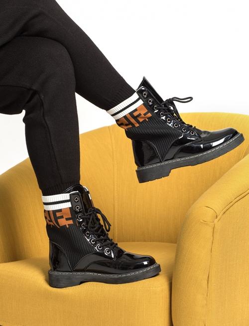Biker Boot Κάλτσα
