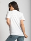 T - Shirt Lady West Λευκό